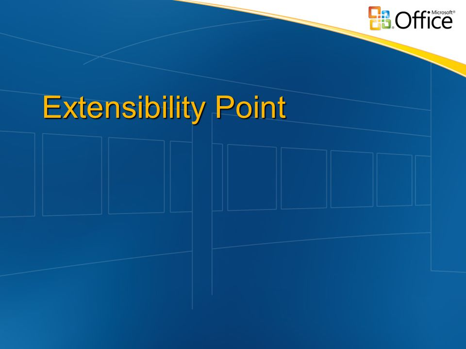 Extensibility Point
