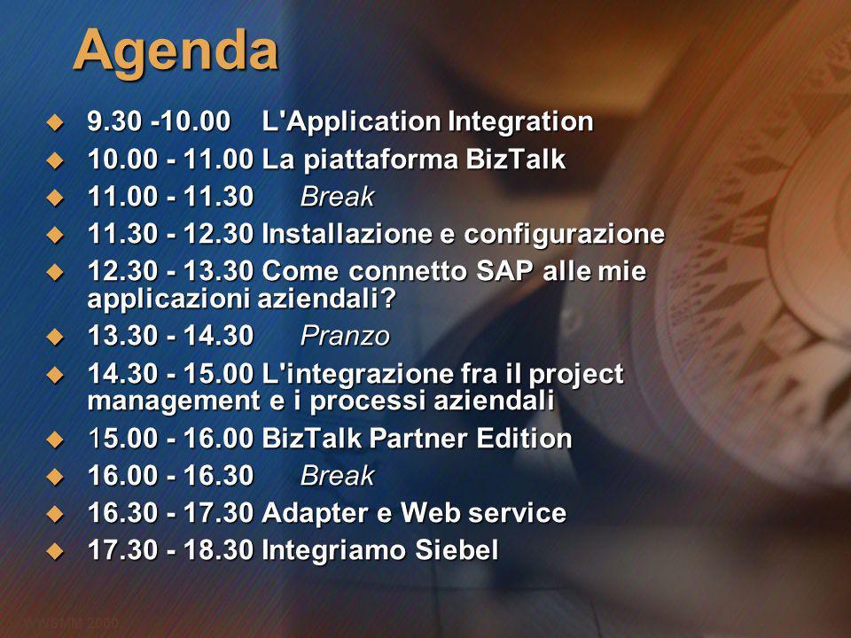 WWSMM 2000 Cosè lApplication Integration.