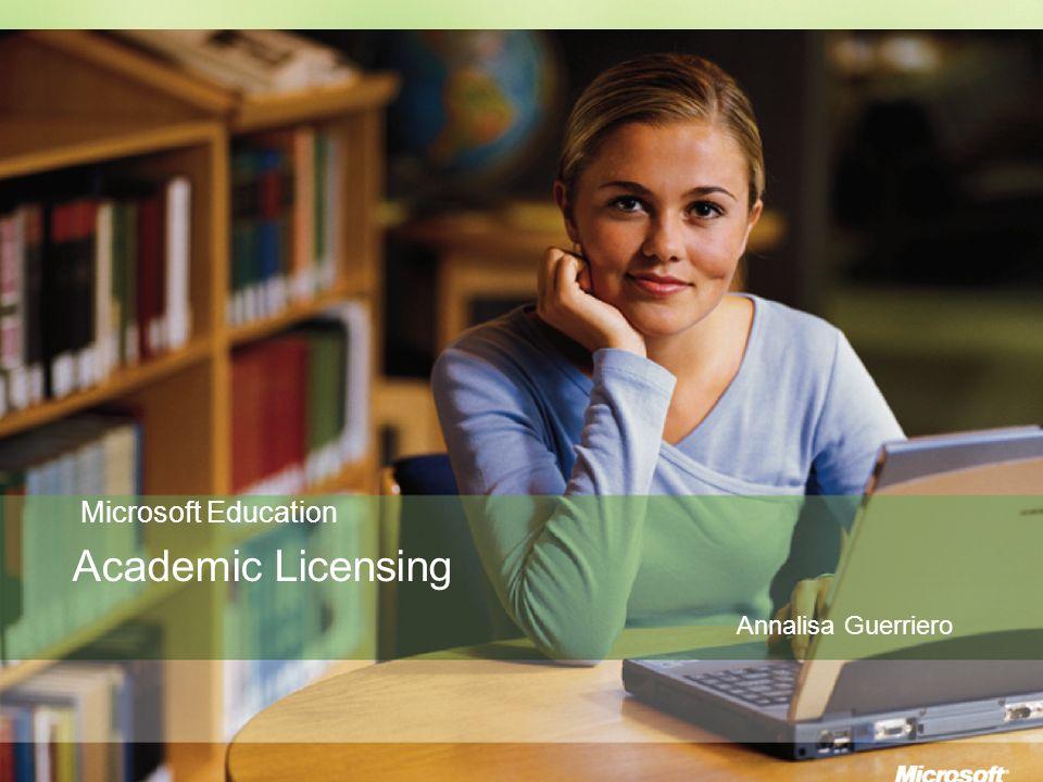 Education Licensing Open License Education: SA Al momento dell acquisto della licenza è possibile comprare l opzione SA, ottenendone in questo modo i benefici.