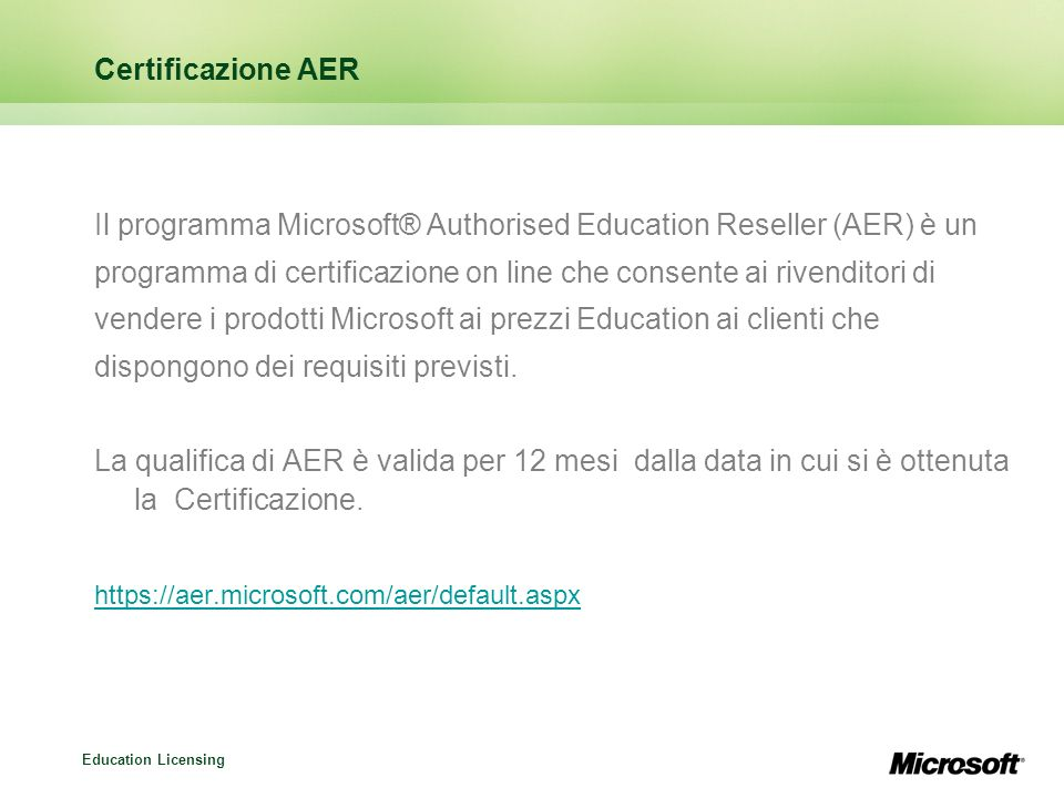 Education Licensing Open License Education