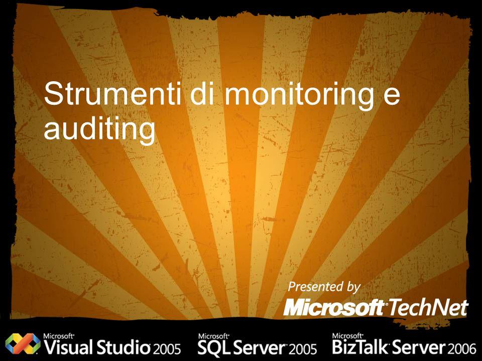 Strumenti di monitoring e auditing