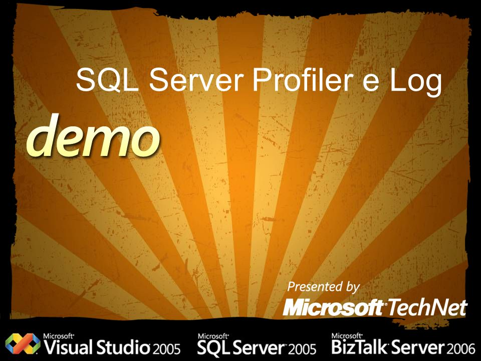 SQL Server Profiler e Log