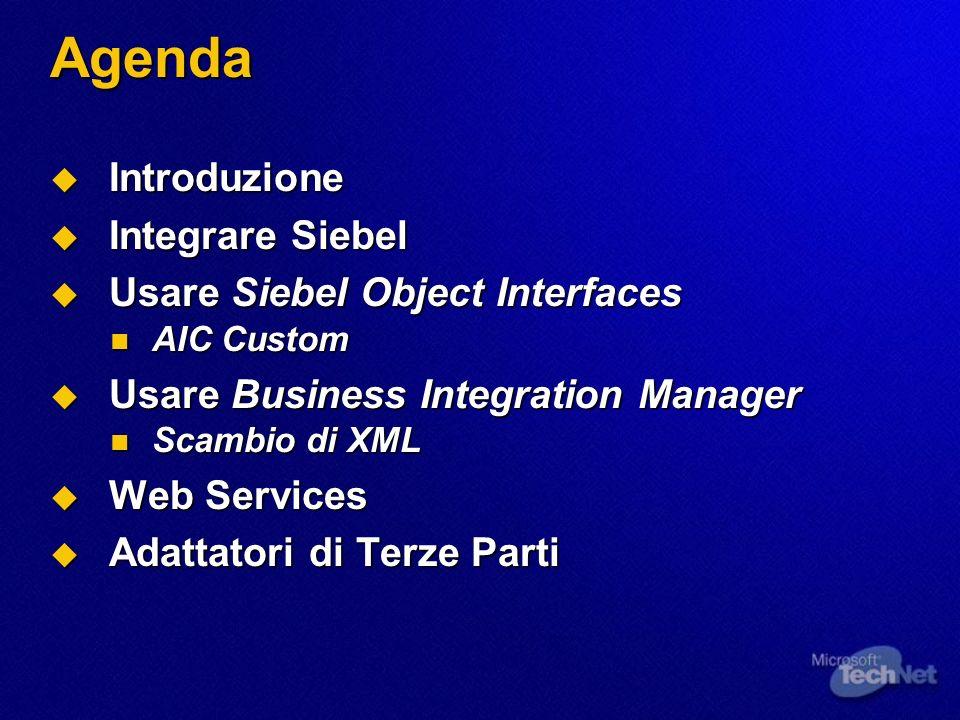 Web Services Inbound e Outbound nella Versione 7.X