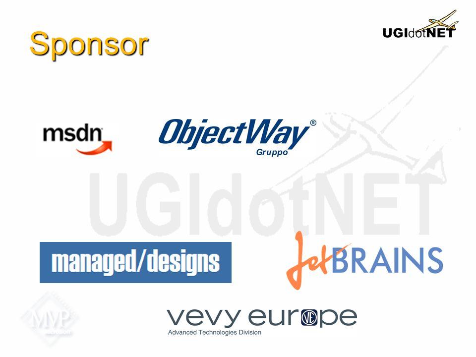 Links http://www.ugidotnet.org http://forum.ugidotnet.org http://mobile.ugidotnet.org http://wiki.ugidotnet.org