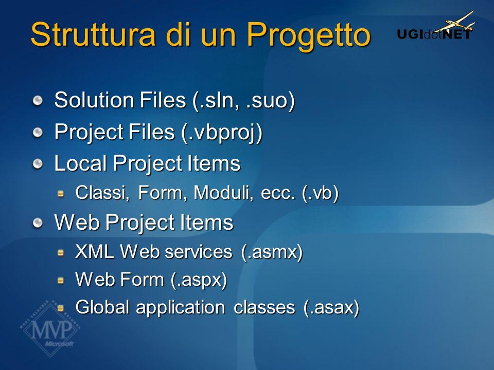 Parte #1 Il linguaggio Visual Basic.NET