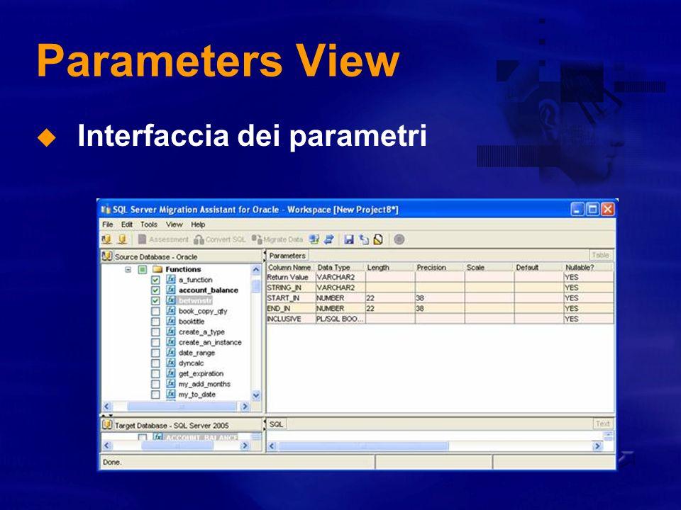 Code Panels View Zebra Parsed SQL View Relazioni tra src e dst evidenziate con colori !