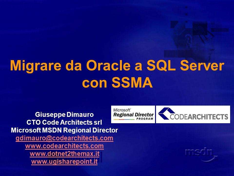 Risorse http://www.microsoft.it http://www.microsoft.com/sql http://www.microsoft.com/sql/solutions/ssm/default.mspx http://msdn.microsoft.com