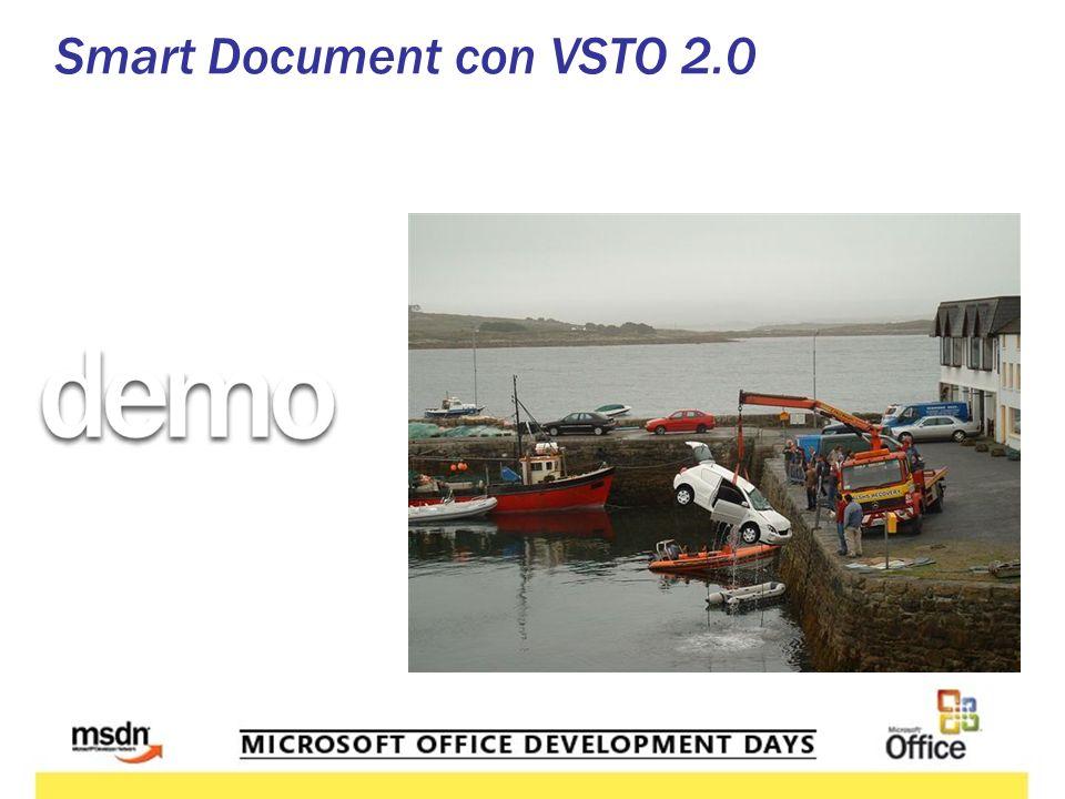 Smart Document con VSTO 2.0