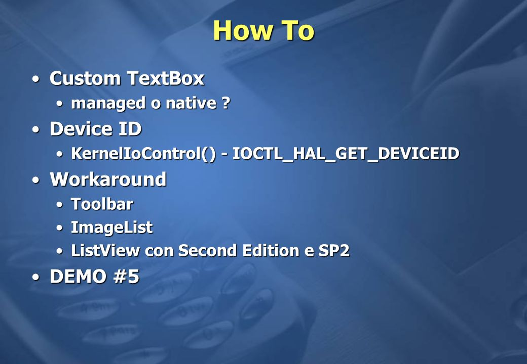 How To Custom TextBoxCustom TextBox managed o native managed o native .