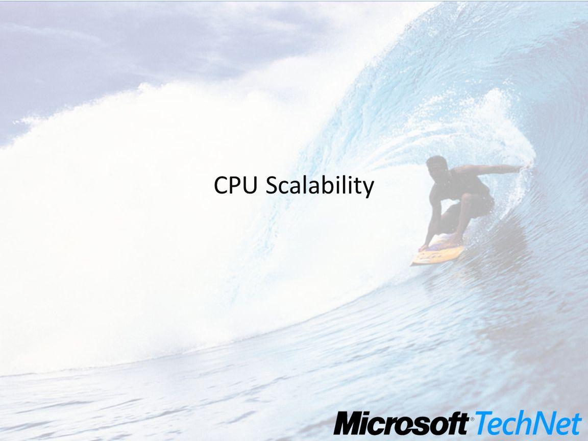 CPU Scalability