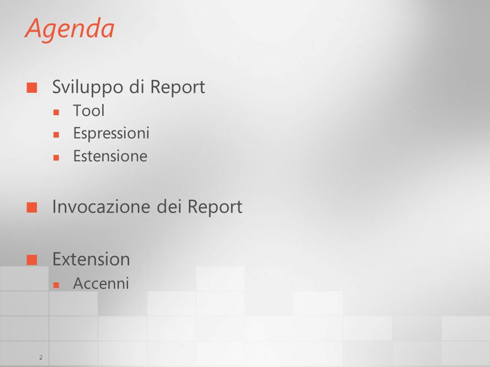 23 Extensions Permette estendere Reporting Services Managed code runs in server process