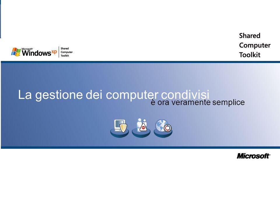 Slide 28 La gestione dei computer condivisi è ora veramente semplice