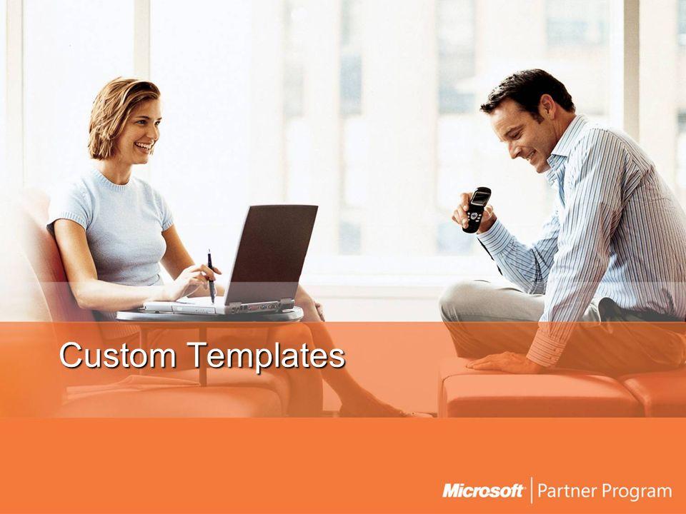 Custom Templates