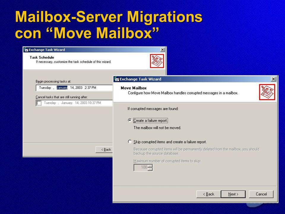 Mailbox-Server Migrations con Move Mailbox