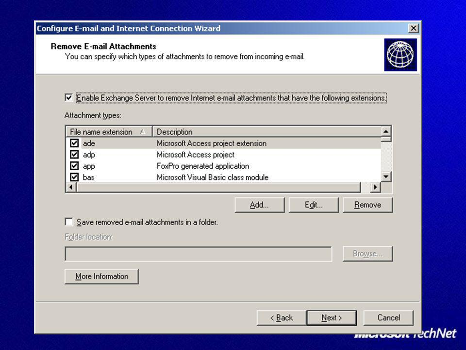 Il client Outlook Posta indesiderata