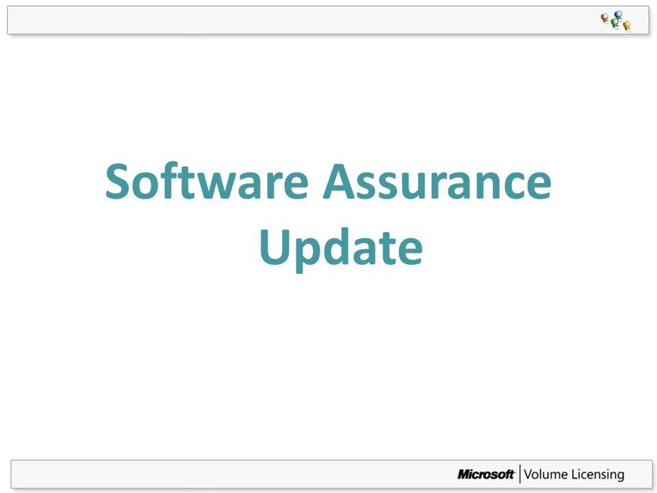 Software Assurance Update