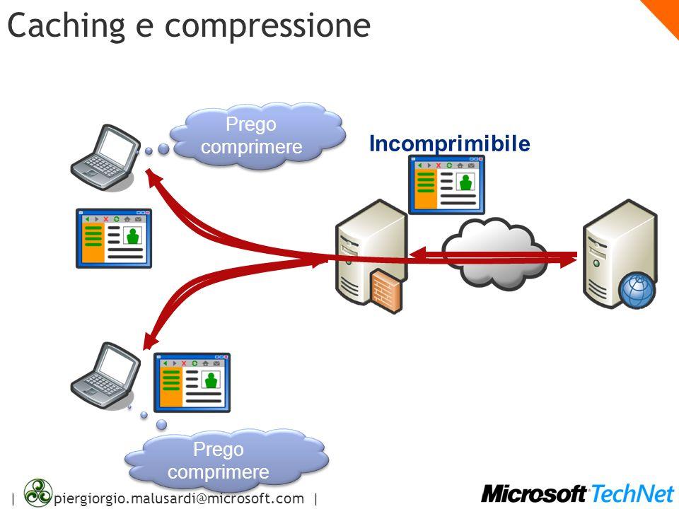 | piergiorgio.malusardi@microsoft.com | Caching e compressione Prego comprimere Prego comprimere Prego comprimere Prego comprimere Incomprimibile