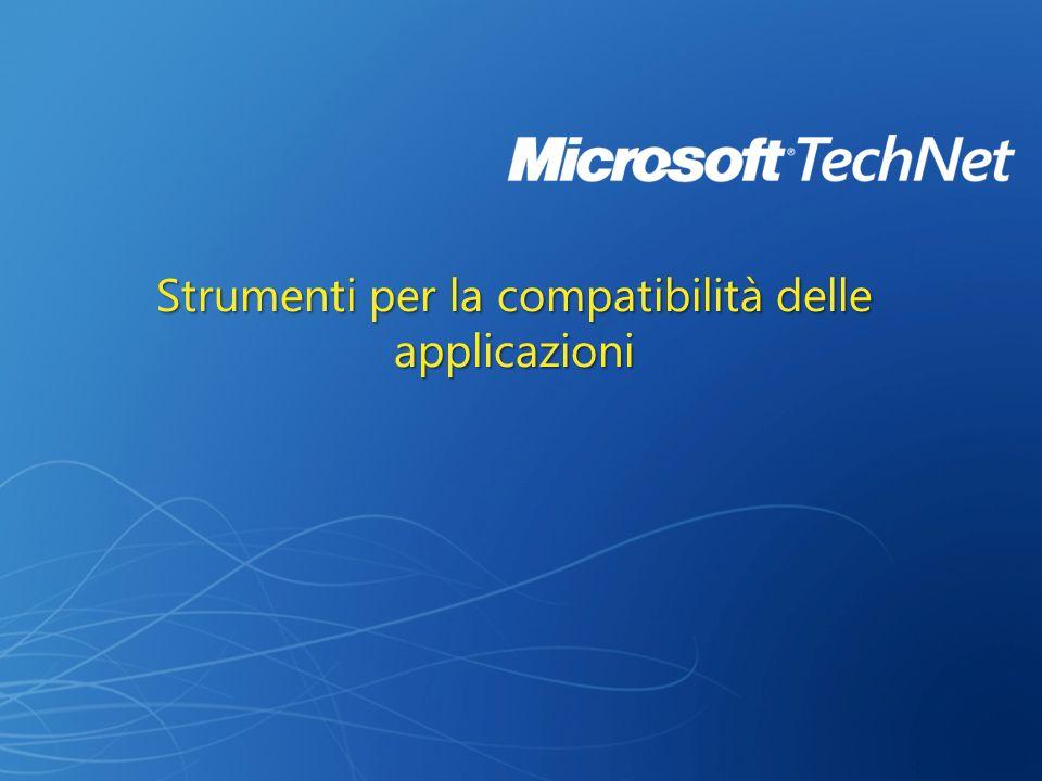 Strumenti per la compatibilità delle applicazioni
