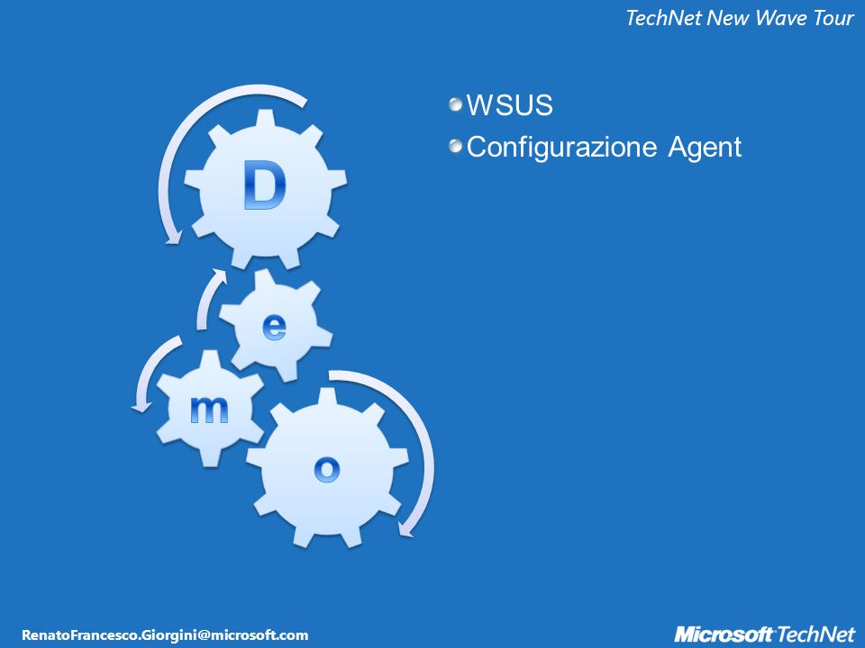 TechNet New Wave Tour WSUS Configurazione Agent