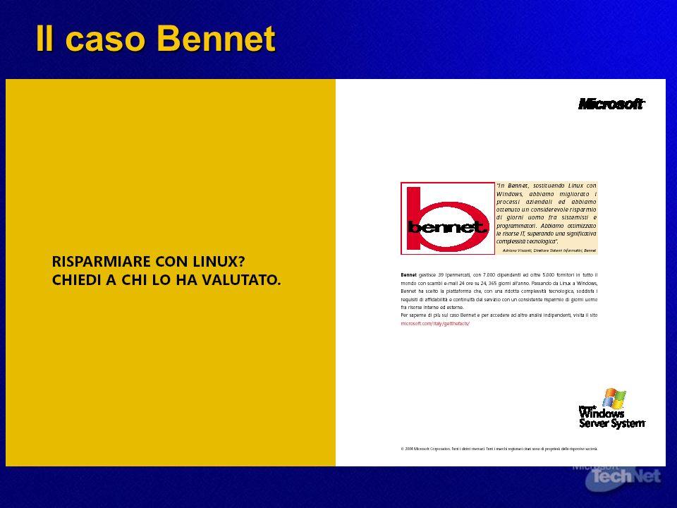 Il caso Bennet
