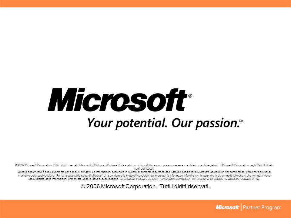 © 2006 Microsoft Corporation.Tutti i diritti riservati.