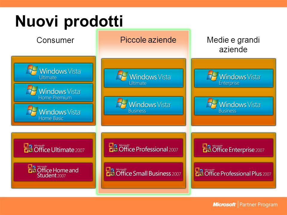 Nuovo programma: Windows Anytime Upgrade 18 1.Gli utenti di Vista acquistano online una licenza aggiornamento.