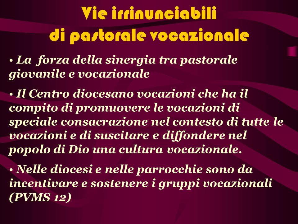 b.Annunciatori del Vangelo della Vocazione Siate seminatori di fiducia e di speranza.