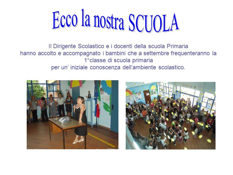 Il Dirigente Scolastico e i docenti della scuola Primaria hanno accolto e accompagnato i bambini che a settembre frequenteranno la 1°classe di scuola