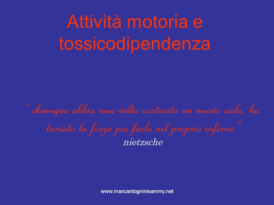 www.marcantogninisammy.net Il sistema endorfino-encefalico Le droghe endogene (i peptidi oppioidi)