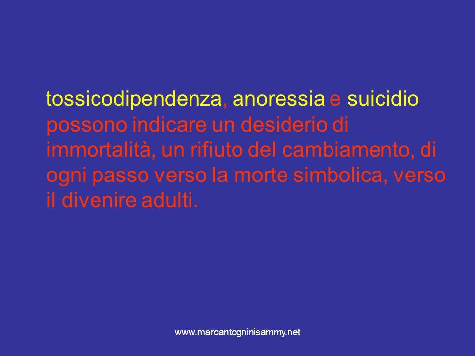 www.marcantogninisammy.net Queste sono le motivazioni fisiologiche dellastinenza