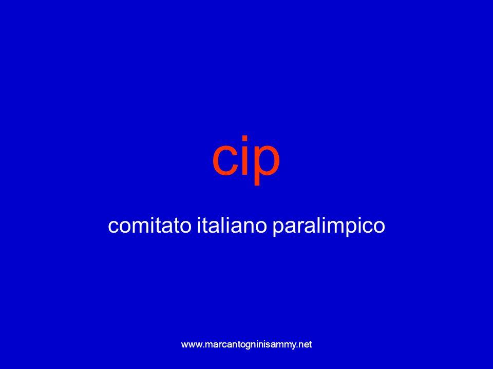 www.marcantogninisammy.net Queste informazioni sono centrali per capire e gestire lattività con soggetti normalmente abili e non……