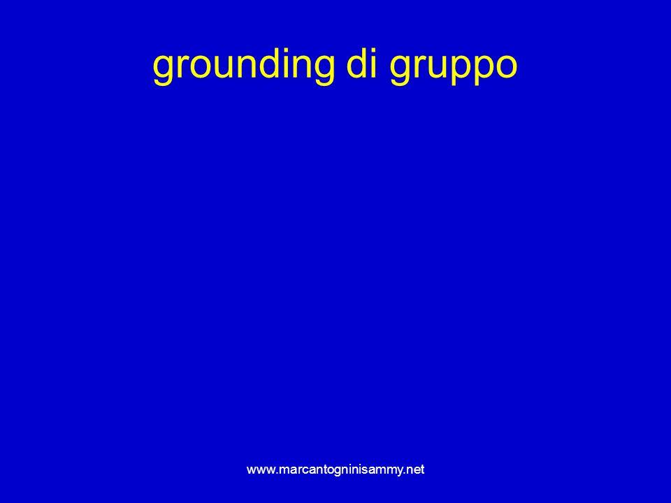 www.marcantogninisammy.net grounding di gruppo