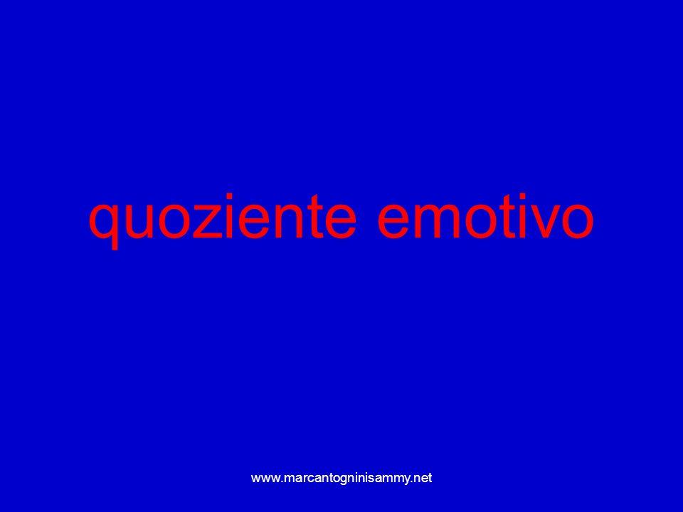 www.marcantogninisammy.net quoziente emotivo
