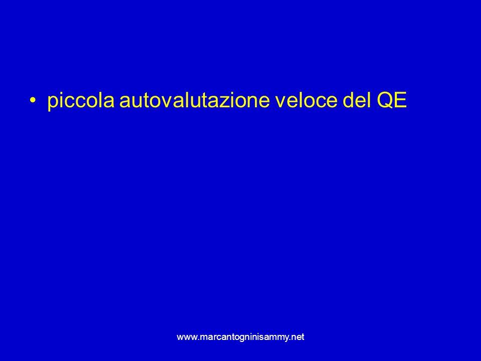 www.marcantogninisammy.net piccola autovalutazione veloce del QE