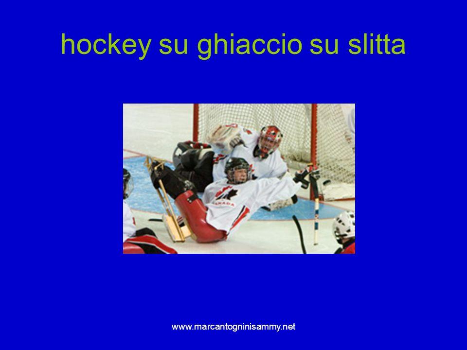 www.marcantogninisammy.net hockey su ghiaccio su slitta