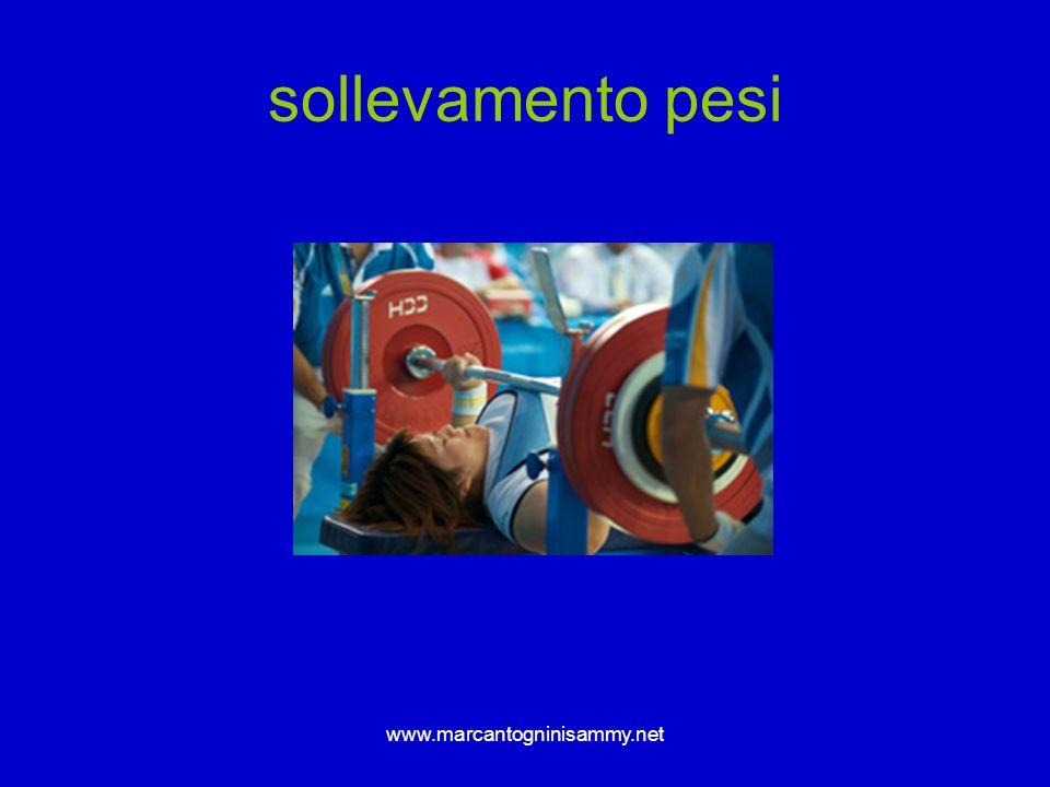 www.marcantogninisammy.net sollevamento pesi