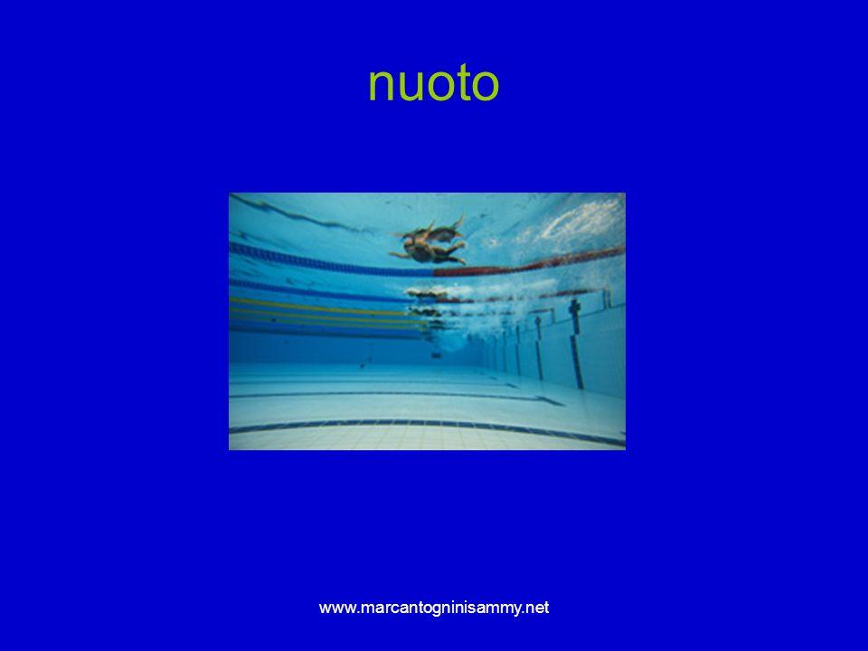 www.marcantogninisammy.net nuoto