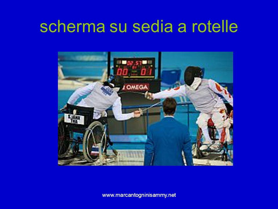 www.marcantogninisammy.net scherma su sedia a rotelle