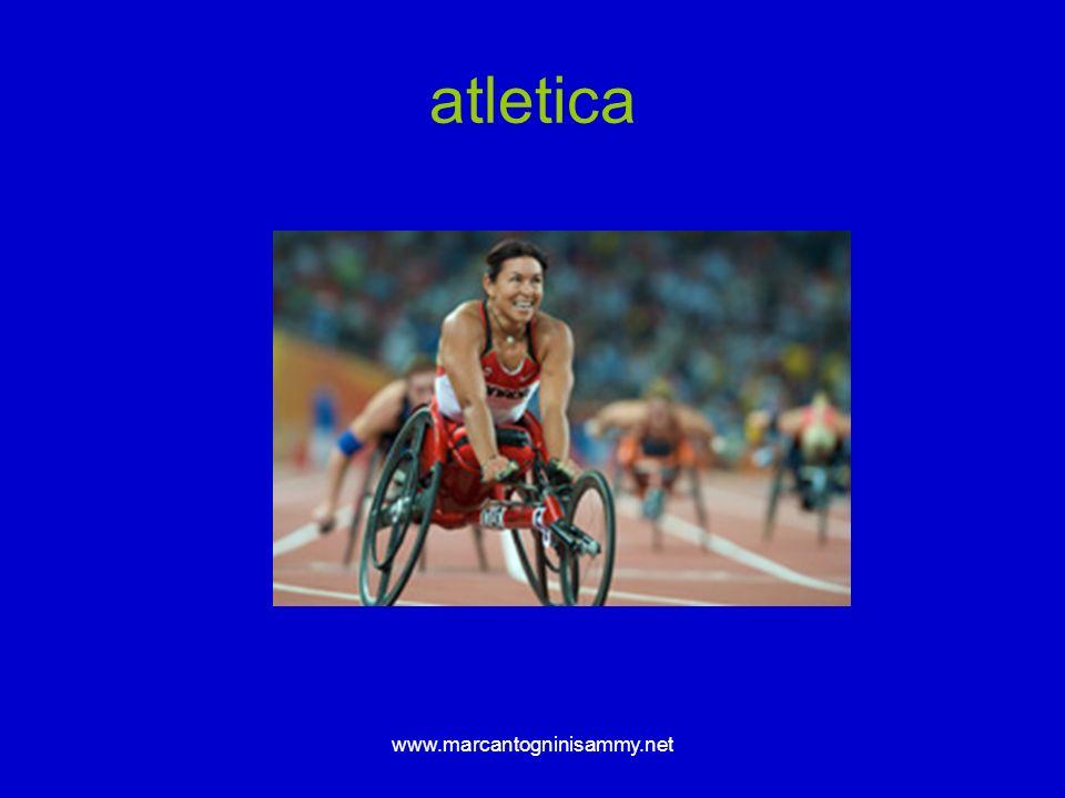 www.marcantogninisammy.net nella classificazione sportiva delle disabilità si procede tramite la valutazione dei sistemi funzionali