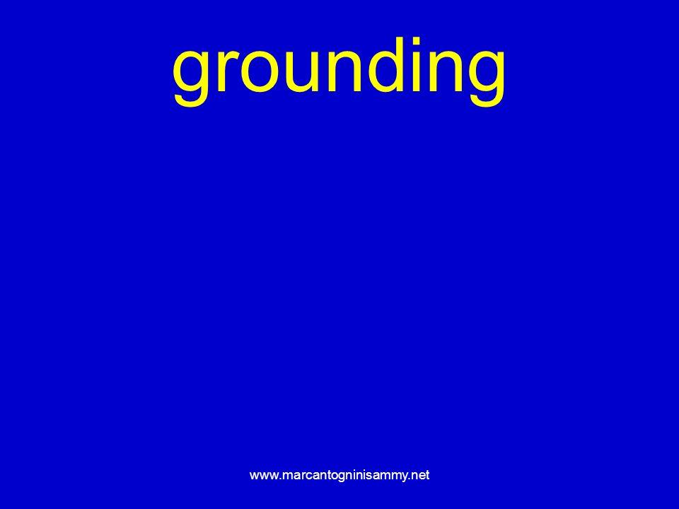 www.marcantogninisammy.net grounding