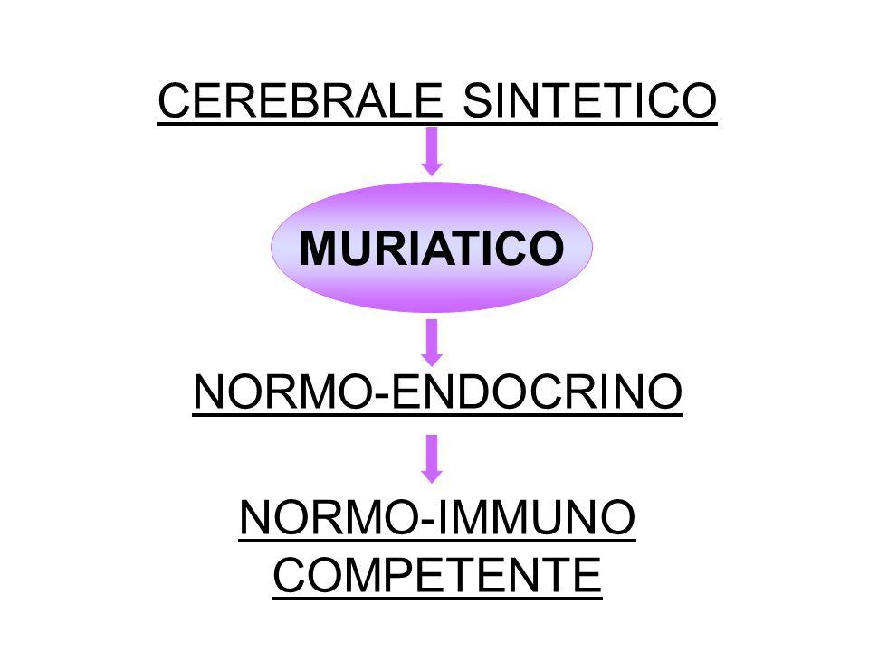 CEREBRALE SINTETICO NORMO-ENDOCRINO NORMO-IMMUNO COMPETENTE MURIATICO