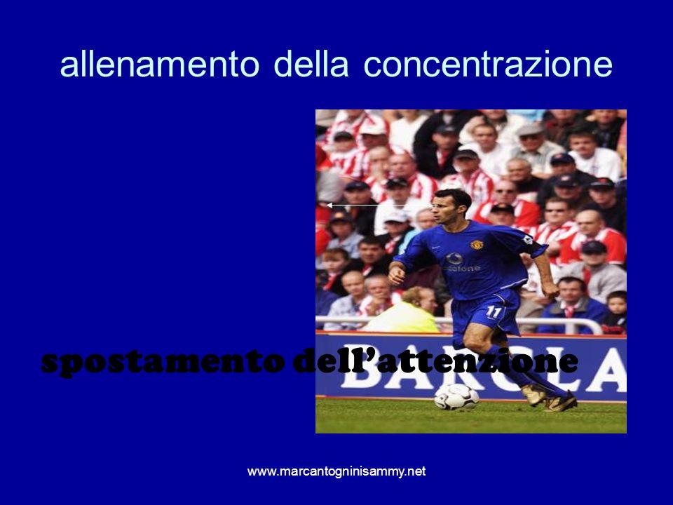 www.marcantogninisammy.net allenamento della concentrazione spostamento dellattenzione