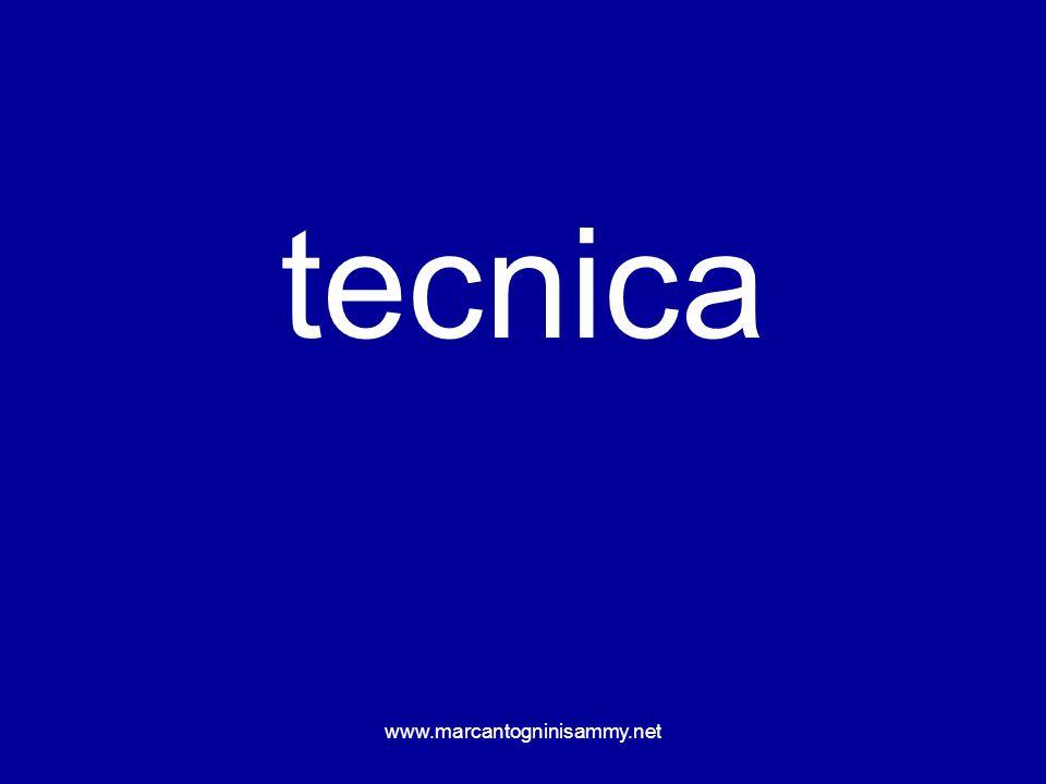 www.marcantogninisammy.net tecnica