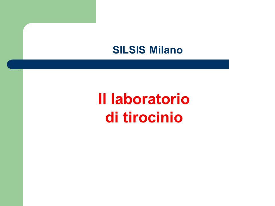 SILSIS Milano Il laboratorio di tirocinio