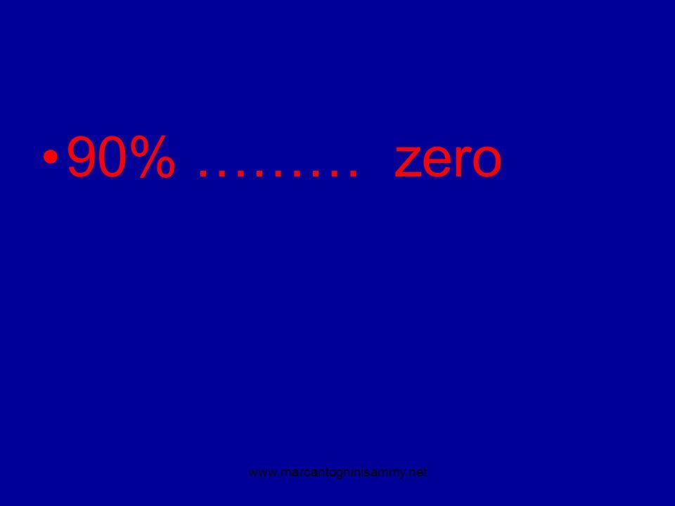 90% ……… zero www.marcantogninisammy.net