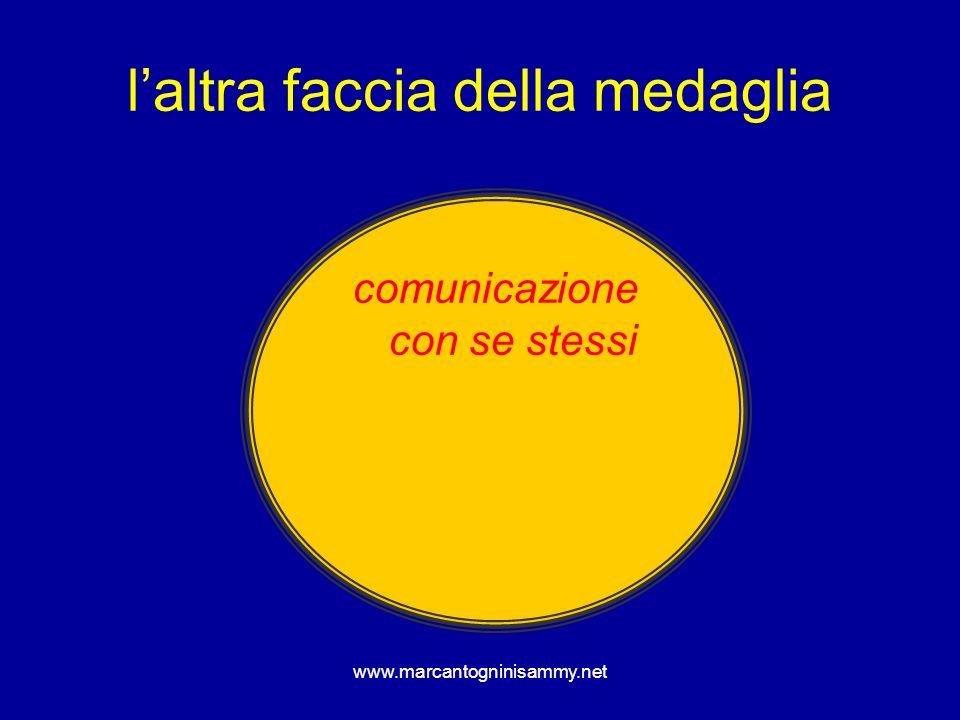 www.marcantogninisammy.net laltra faccia della medaglia comunicazione con se stessi