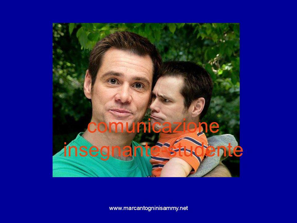 www.marcantogninisammy.net Per i genitori…….evitare di contraddire la norma posta dallinsegnante per non screditare la sua autorevolezza