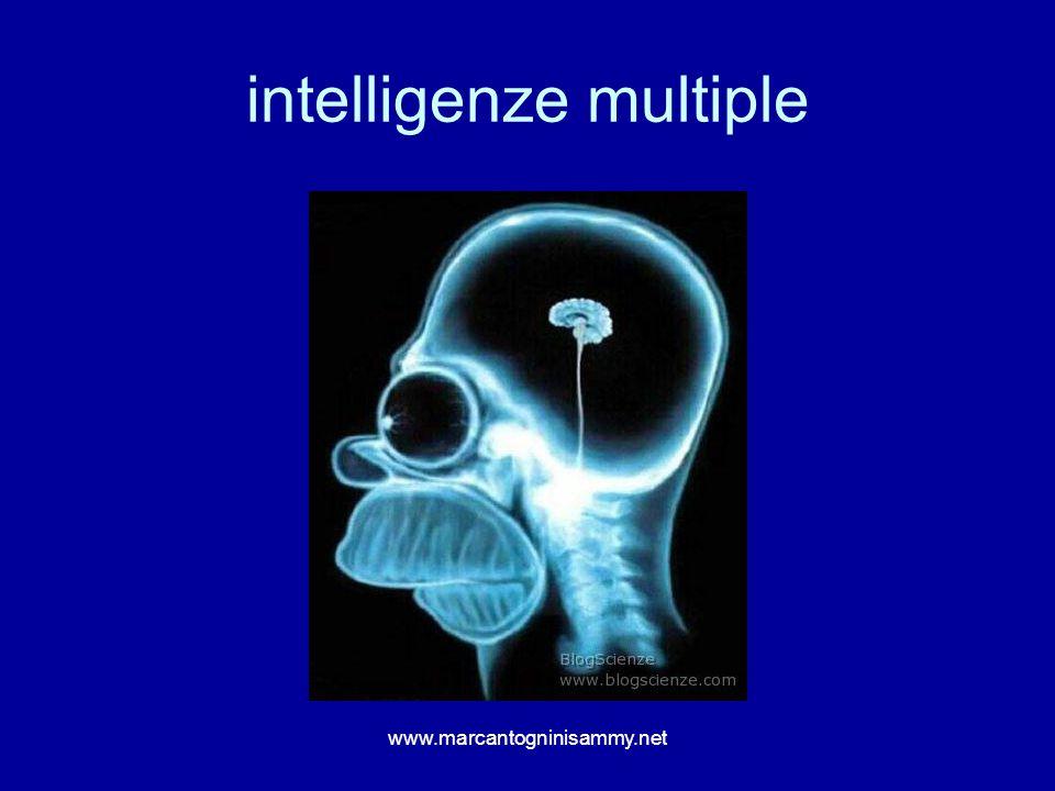 intelligenze multiple www.marcantogninisammy.net