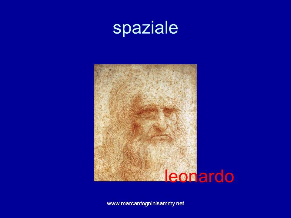 spaziale www.marcantogninisammy.net leonardo