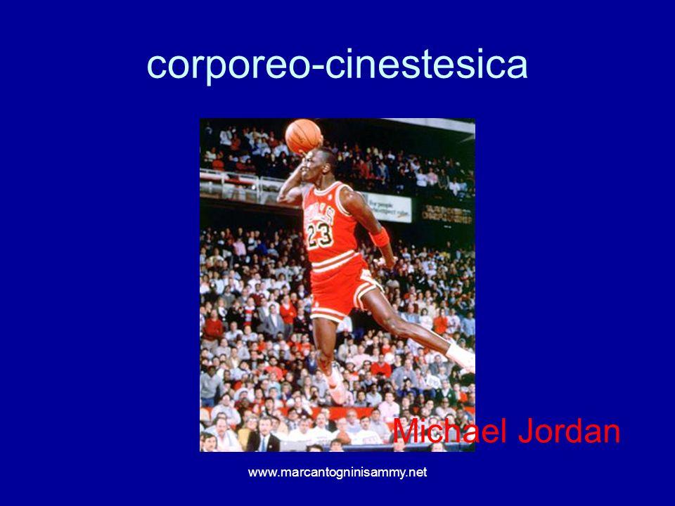 corporeo-cinestesica www.marcantogninisammy.net Michael Jordan